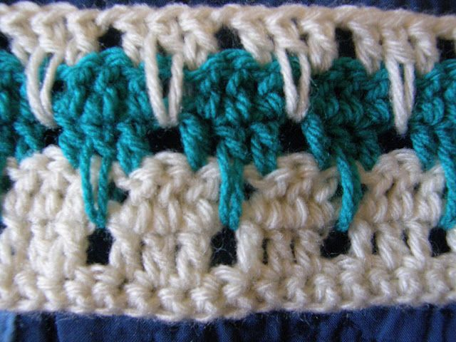 Crochet Stitches Larksfoot : How To Crochet A Larksfoot Blanket or An Arcade Blanket! (VERY ...
