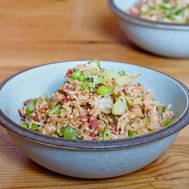 Vegetable Fried Rice | veg | Pinterest