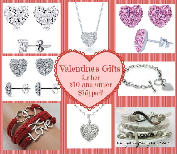 10 Valentine's Gifts For Her Under $10 Shipped!