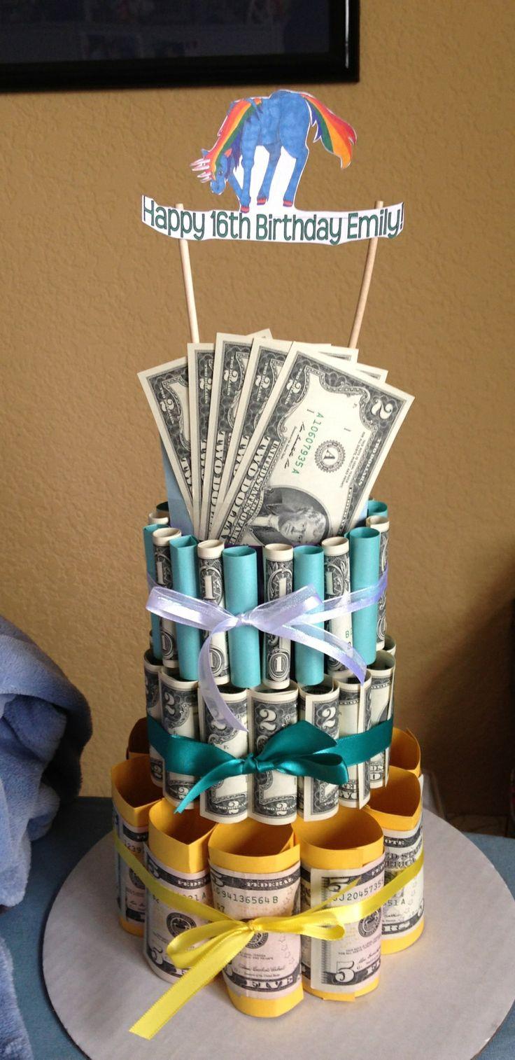 Wedding Gift Ideas Other Than Money : money cake Gifts Pinterest