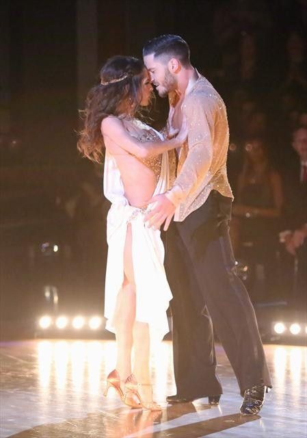 DWTS All-Stars Semi-Finals: Kelly Monaco and Val Chmerkovskiy