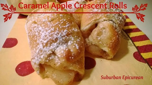 Caramel Apple Crescent Rolls. | Favorite Recipes | Pinterest