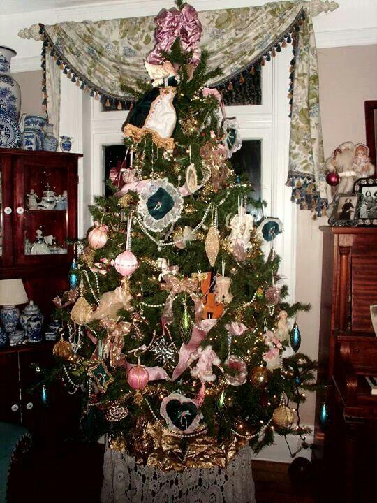 Victorian christmas decorations diy - Homemade Victorian Tree Amp Ornaments Christmas Pinterest
