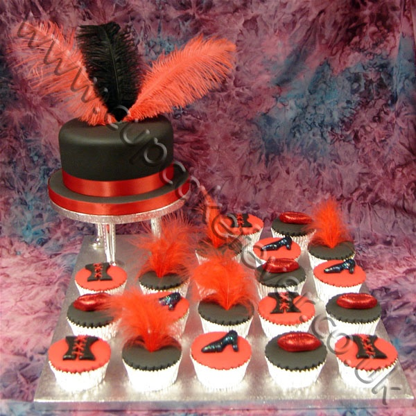 rocky horror picture show cupcakes cake decorating. Black Bedroom Furniture Sets. Home Design Ideas