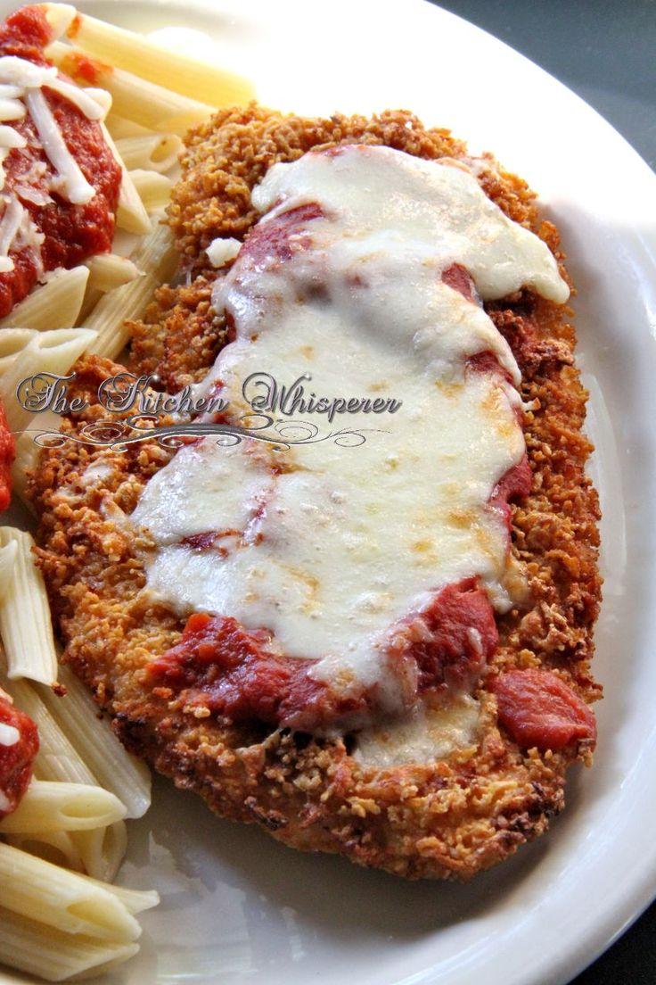 Gluten Free Crispy Chicken Parmesan | Recipe