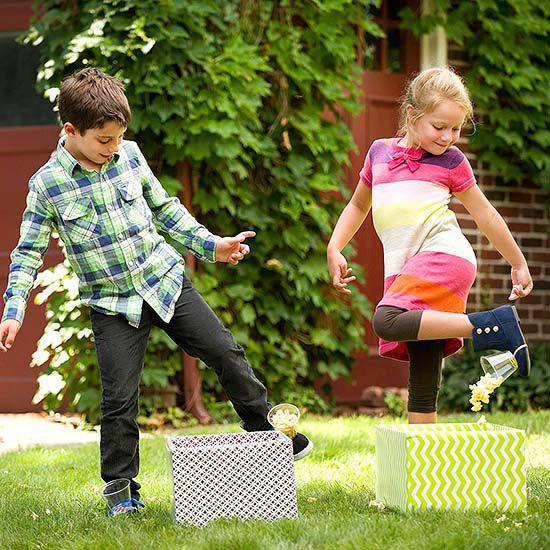 Fun Outdoor Games For Kids' Birthday Parties