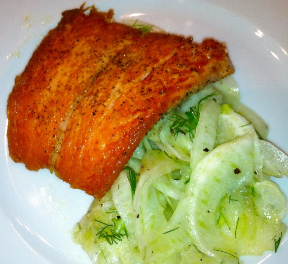 ... fennel vinaigrette salmon fennel red curry salmon with fennel baked in