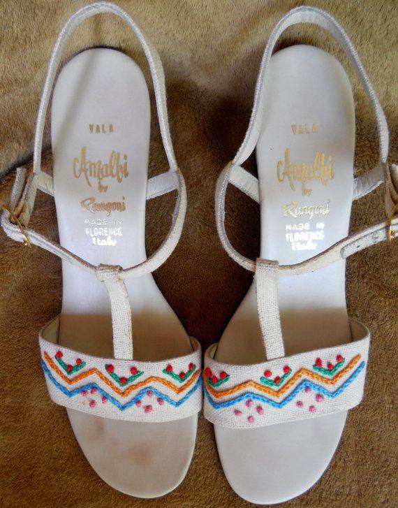 Beth Nativ burchfield Vintage Amalfi by Rangoni Shoes Sandals Spring