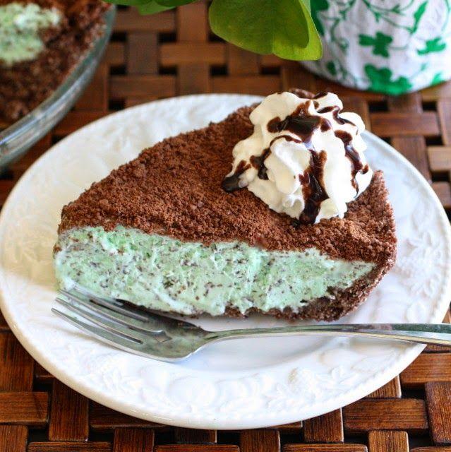Savoury Table: Happy Pi Day: Frozen Grasshopper Pie