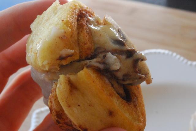 chocolate chip cookie cinnamon rolls!   Sweet Treats   Pinterest