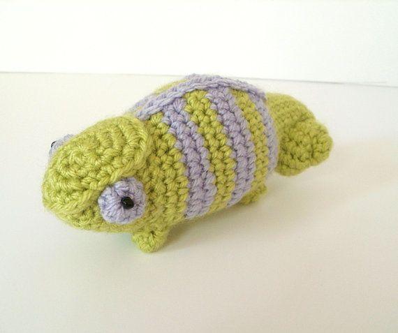 Crochet Chameleons : Crochet Pattern Spectrum the Chameleon by BluephoneStudios on Etsy