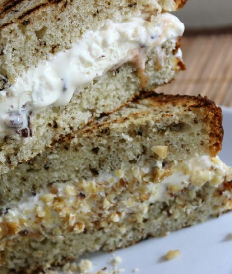 Easy Grilled Banana Bread Ice Cream Sandwiches Recipe — Perfect ...