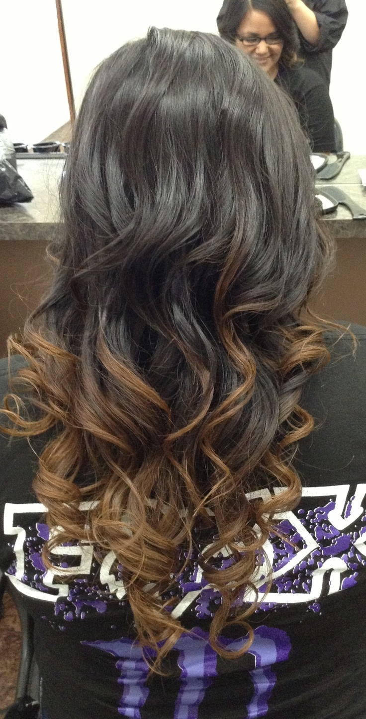 brown hair ombre hair pinterest