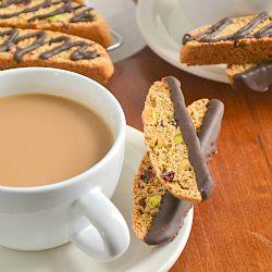 Cranberry Pistachio Biscotti | Breads, Muffins & Rolls | Pinterest