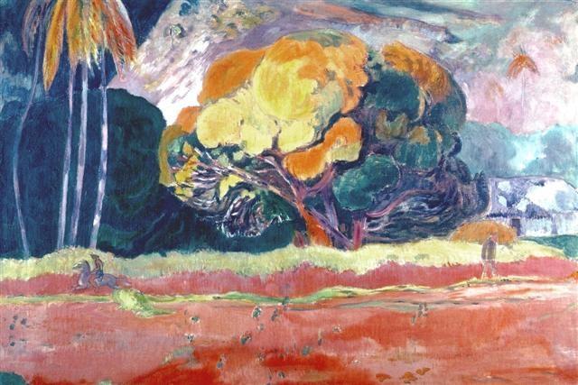 The Big Tree, Gauguin, 1899
