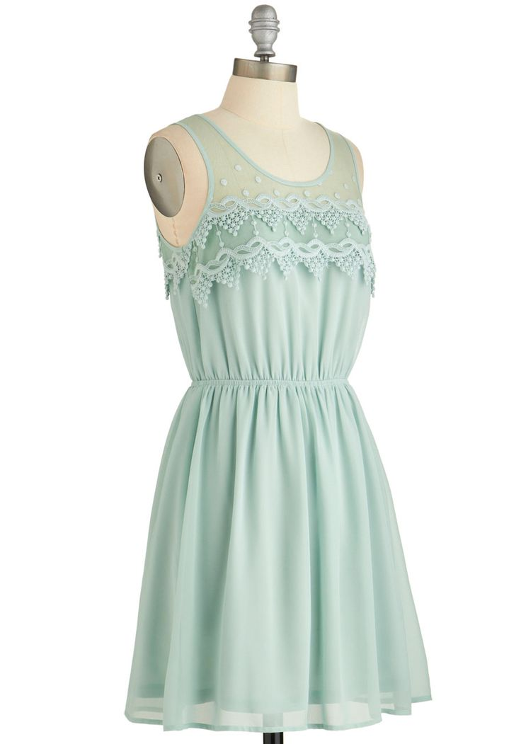Peach Julep Dress in Mint. Celebrate an overdue night out with your ...