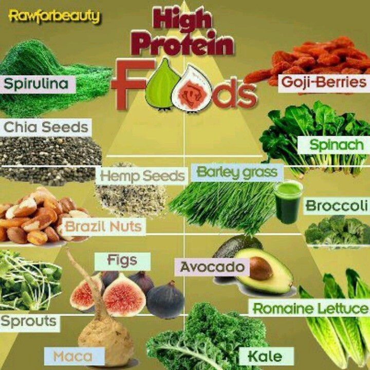High protein foods for a raw vegan diet
