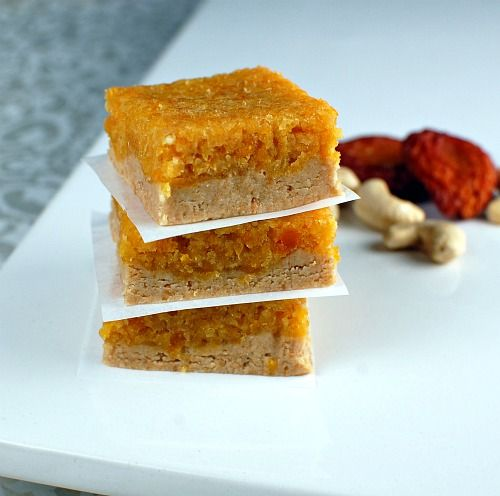 apricot bars via @spabettie | Goodies | Pinterest
