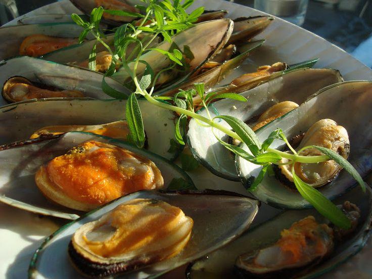 Moules a la Mariniere | Seafood | Pinterest