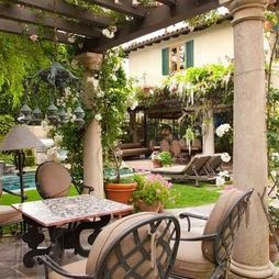 Elegant Tuscan Patio Decorating Ideas Pin By Lizzy Nu Ez On For The Home Pinterest .
