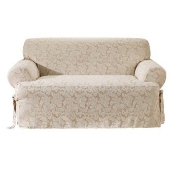 Sure Fit Scroll T Cushion Sofa Slipcover Sofas Pinterest