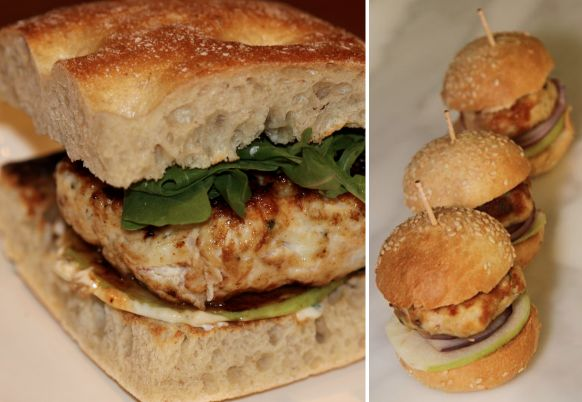 Chicken and Apple Burgers | Recipes | Pinterest