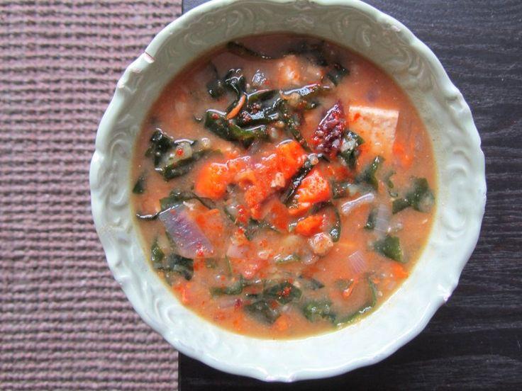 Sweet Potato Soul: Sweet Potato & Squash Miso Soup