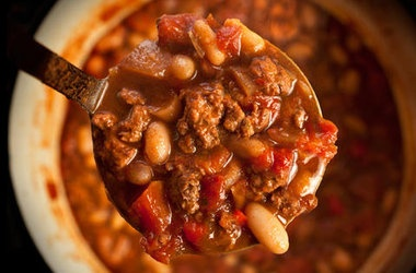 Easy Spicy Turkey Chili — Punchfork | Yum. | Pinterest