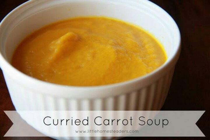 Curried Carrot Soup | Recipes | Pinterest
