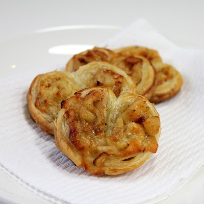 Apple Cheddar Palmiers | A Spicy Perspective