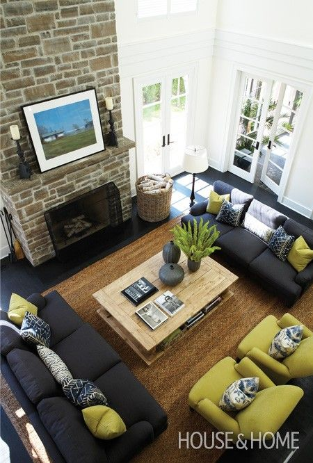 Photo Gallery: Vote For Your Favourite H&H Living Room | House & Home