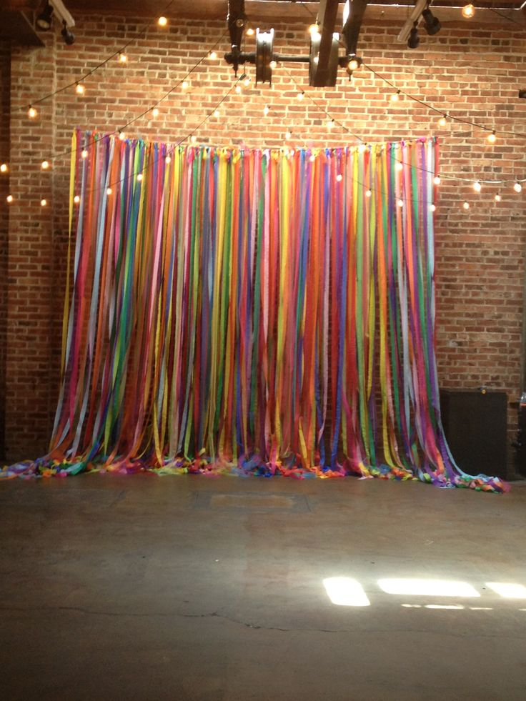 This would be an awesome idea for a wedding alter if it for Party backdrop ideas