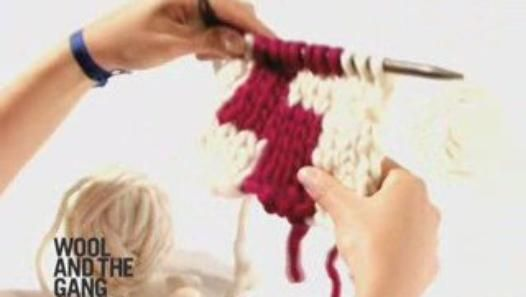 Crochet Tutorial On Dailymotion : ... Intarsia, technique video knitt & crochet tutorials Pint