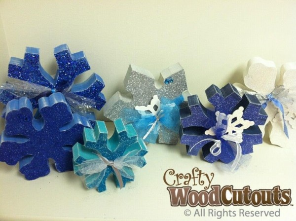 Winter Crafts Snow Flakes