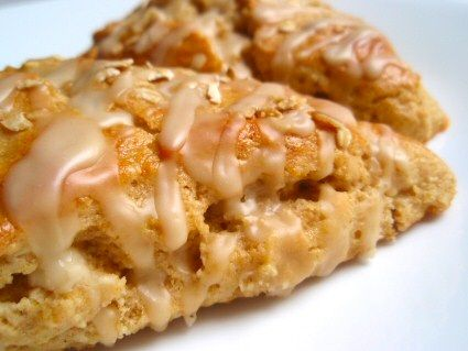 Maple Oatmeal Scones - Tender and flaky, these maple scones have a ...