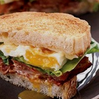 BELT Bacon egg lettuce tomato Soooo good.