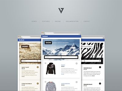 Minimalist website. I like the logo.