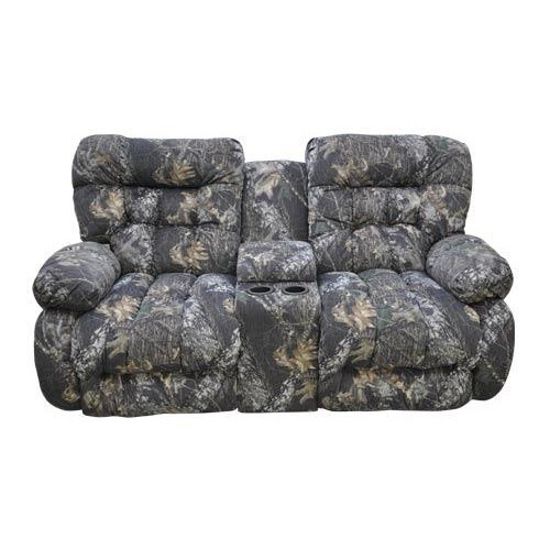 Camo Reclining Loveseat W Console Things I Dislike Pinterest