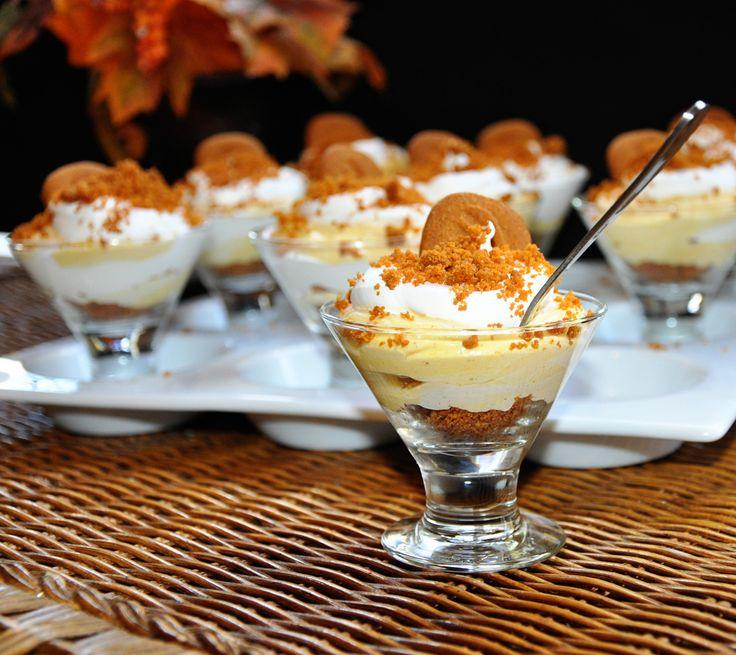 Pumpkin Biscoff Cheesecake Parfaits | Food | Pinterest
