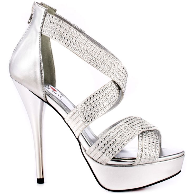 Silver Heels For Prom To Look Exceptional