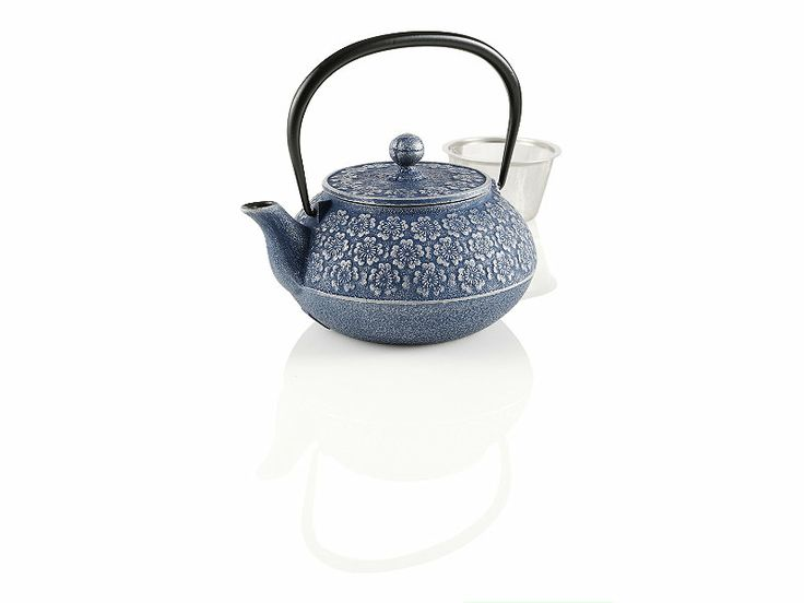 Teavana small japanese cherry blossoms cast iron teapot - Teavana tea pots ...
