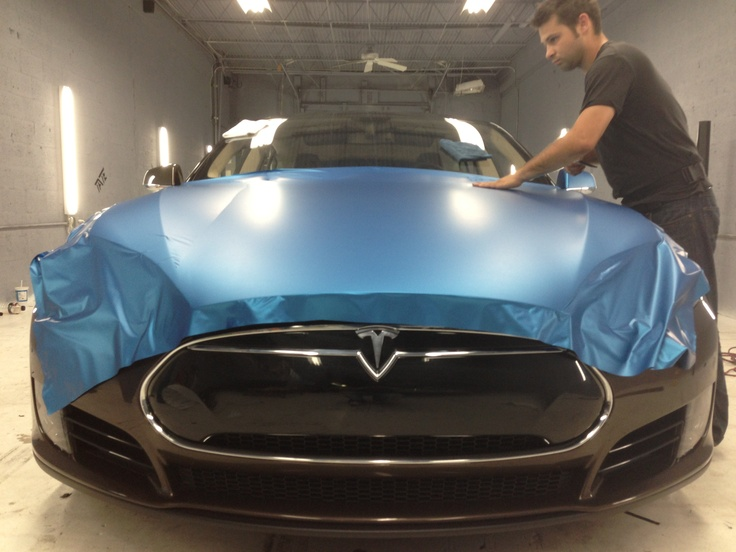 Tesla Model S Custom >> 3m matte metallic blue | 2013 tesla model S | Pinterest