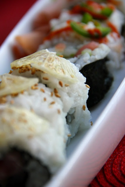 Ahi Tuna Roll. | Food from the Sea... | Pinterest