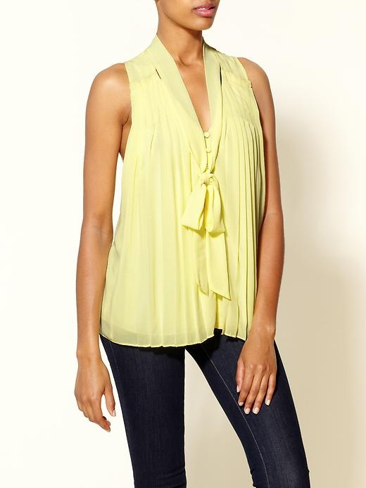 Yellow Sheer Blouse 40