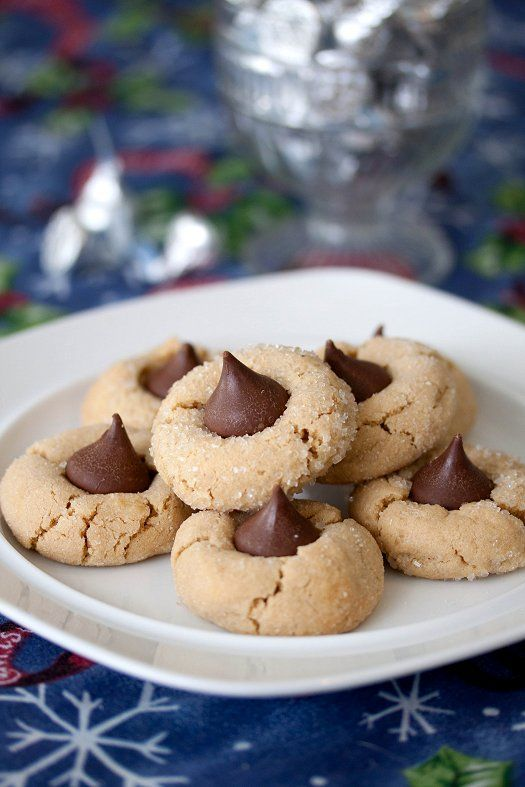 Peanut Butter Blossoms | Bars and Cookies | Pinterest