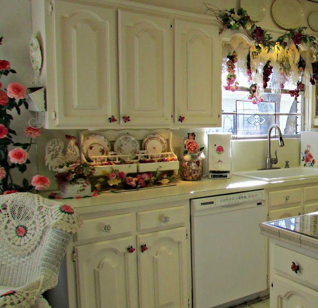 Penny 39 S Vintage Home Rose Kitchen Kitchen Pinterest