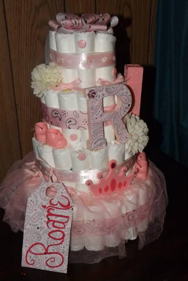 Diaper Cake Baby Pinterest