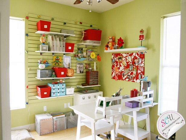 Sewing Room Ideas Design Craft Room Pinterest
