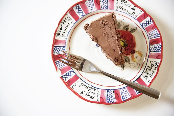 bittersweet chocolate mousse cake | yummy food | Pinterest
