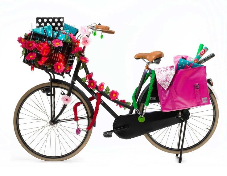 fiets decoratie fiets pimpen pinterest